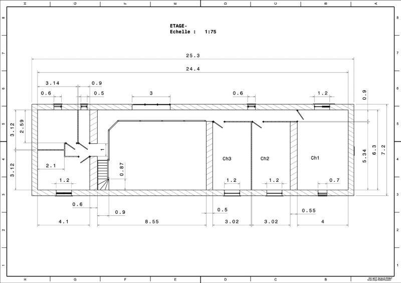 Super Une Longère – Un Projet – Une Rénovation, » Plans UH01