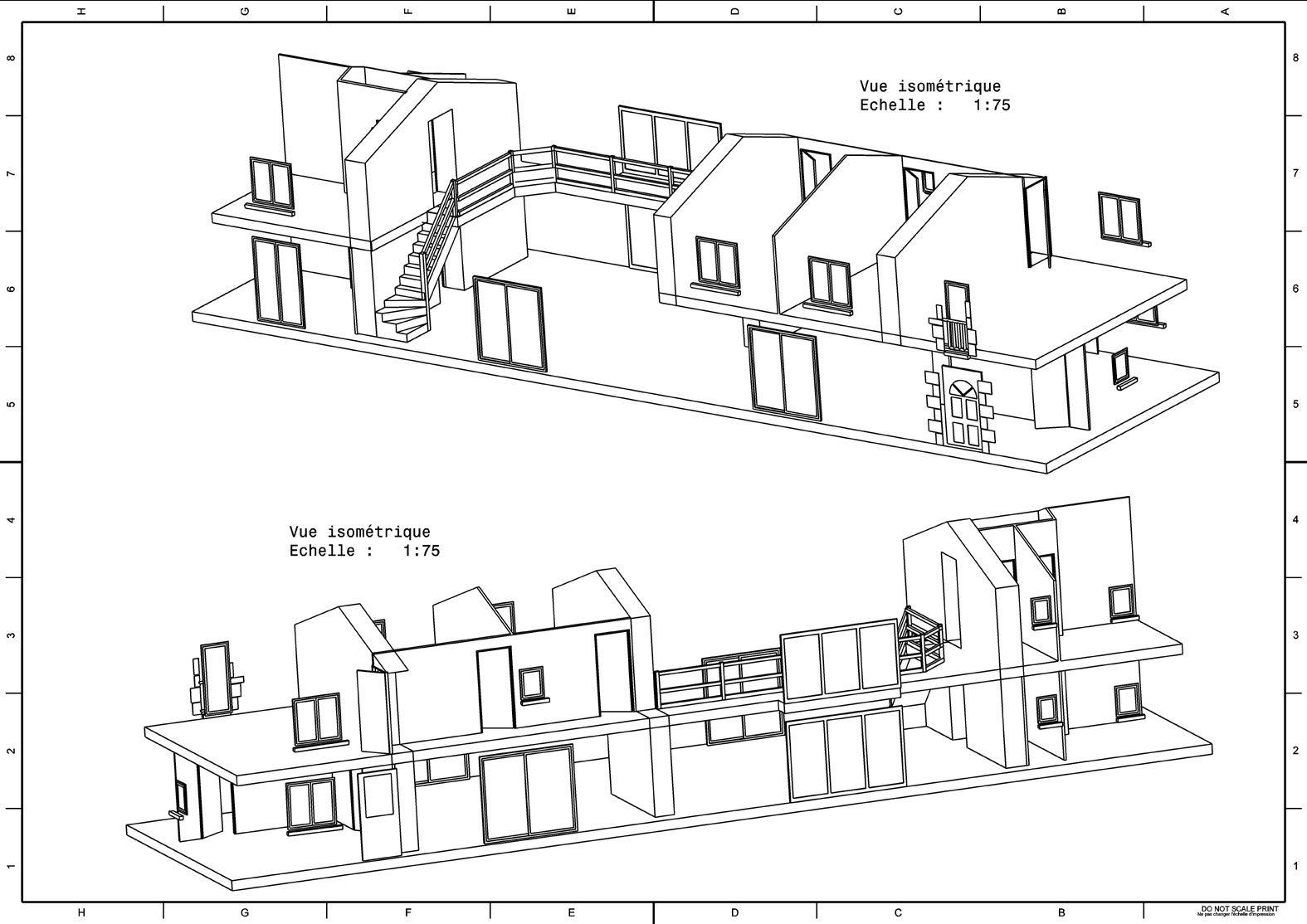 Extrêmement Une Longère – Un Projet – Une Rénovation, » Plans HH36