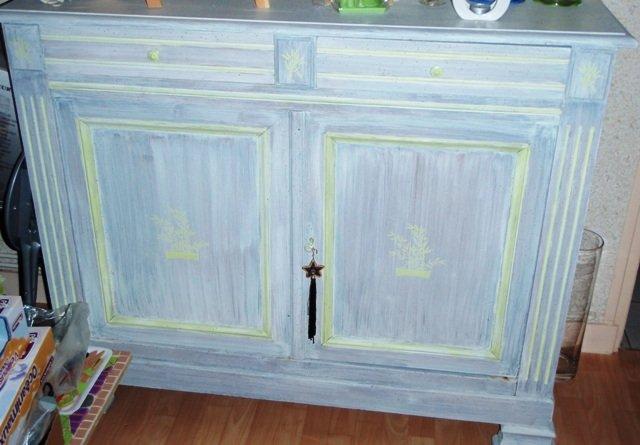 Une long re un projet une r novation bricolage cr ation for Peindre meuble bois en blanc